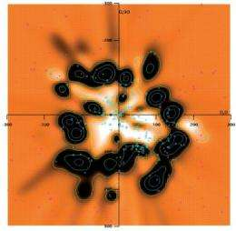 A new 3-D map of the interstellar gas within 300 parsecs from the sun
