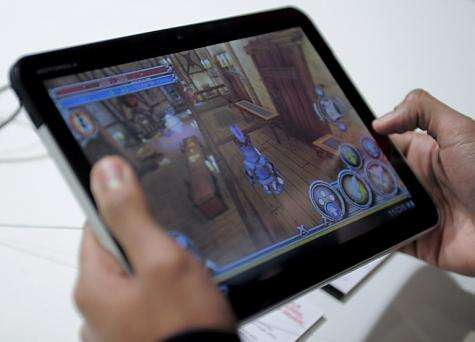 A new Motorola Mobility Holdings Inc. Xoom tablet