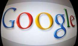 A portion of a Google Transparency Report that charts worldwide Internet traffic patterns was modified