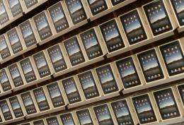 Apple iPad's tablet computer
