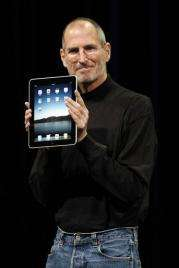 Apple's Jobs unveils `intimate' $499 iPad tablet (AP)