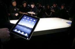 Apple's new iPad in San Francisco