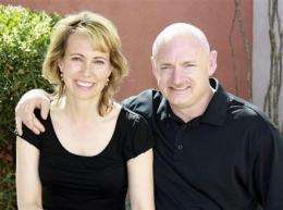 Astronaut's choice: Fly to space or stay with wife (AP)