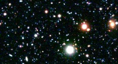 Astronomers identify most distant galaxy cluster