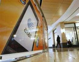AT&T adds 2.7M wireless customers, beating Verizon (AP)