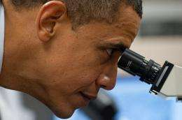 Barack Obama wants a refocus on scientific research
