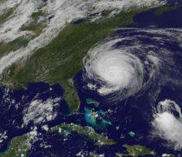 Bermuda in warnings as the GOES-13 Satellite catches Fiona approaching
