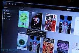 Blio e-reader software