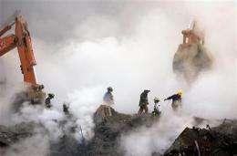 Cancer question complicates 9/11 compensation deal (AP)
