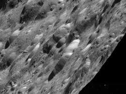 Cassini completes Rhea flyby