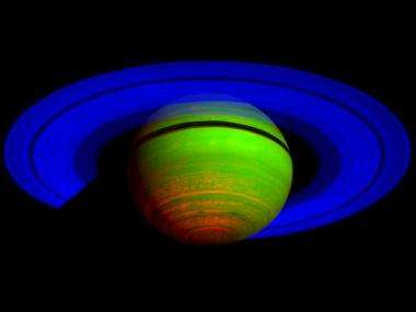 Cassini's CIRS reveals Saturn is on a cosmic dimmer switch