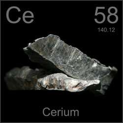 Cerium's unusual behaviour