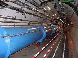CERN LHC Tunnel