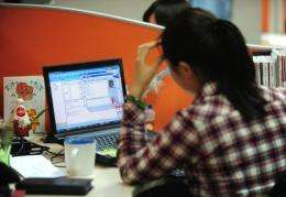 China has world's largest online population