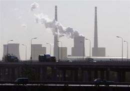 China is the world's biggest greenhouse gas emitter