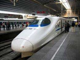 China planning high-speed rail networks to Asia, Europe and UK
