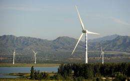 China ranked second in the world in installed wind generating capacity in 2009