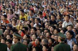 China's recent population rise is considered roughly equal to the number of people living in Rio de Janeiro
