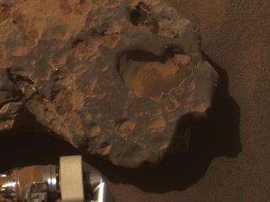 Close-up of a Meteorite - 'Oilean Ruaidh'