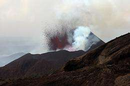 Congo receives help from space after volcano eruption