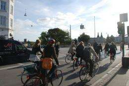 Copenhagen is considered to be one of the world's most bicycle-friendly cities