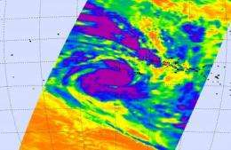 Cyclone Oli reaches category 4 strength on its way to open waters