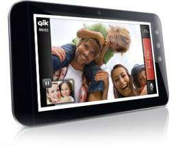 Dell said its Streak 7 tablet is designed for the faster Internet speeds of US wireless carrier T-Mobile's 4G network