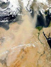 Deserts in the region threaten to consume more land in the next century