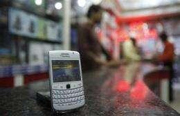 Dubai police chief calls BlackBerry a spy tool (AP)
