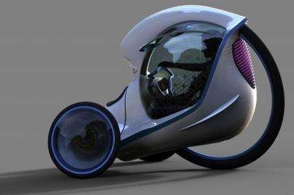 E-3POD electric vehicle concept wins the Double Challenge Project