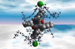 Electron switch between molecules points way to new high-powered organic batteries