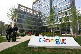 E-mail leak has Google threatening to leave China (AP)