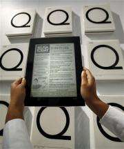 E-reader boom kindles a variety of new options (AP)