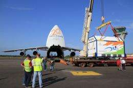 Europe's spaceport awaiting Hylas-1 satellite launch