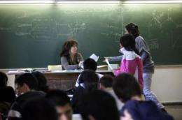 Female teachers ask for work/family reconciliation to be able to access management posts