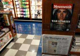 Florida-based conservative publisher Newsmax is interested in buying Newsweek