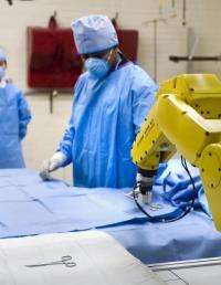 Future surgeons may use robotic nurse, 'gesture recognition'