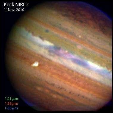 Jupiter gets its stripe back