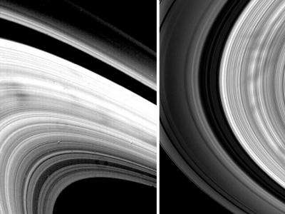 Ghostly Spokes in the Rings