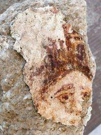 Goddess of fortune found in Sussita
