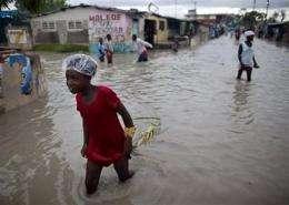 Haiti 'got very lucky' as Tomas skirted island (AP)