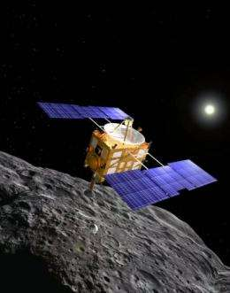Hayabusa space probe left Earth in 2003 and returned late Sunday, completing a 5-bln-km round trip to an asteroid