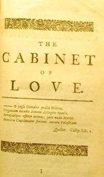 Hidden pornographic poems explain 'bestseller' success of C18 poetical volumes