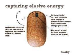 How Corky captures energy. (Image via Inhabitat)