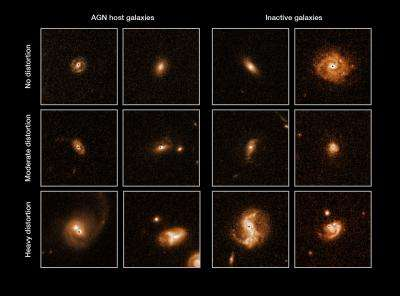 Identity parade clears cosmic collisions of the suspicion of promoting black hole growth