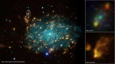 Image: Black Hole Blows Big Bubble