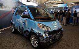 Intel Working on Black Box for Smart Cars