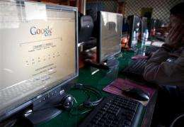 Internet firm in China stops using Google services (AP)