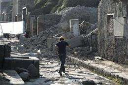 Italy: More building collapses at Pompeii possible (AP)