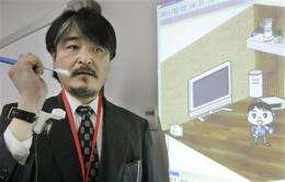 Japan company developing sensors for seniors (AP)